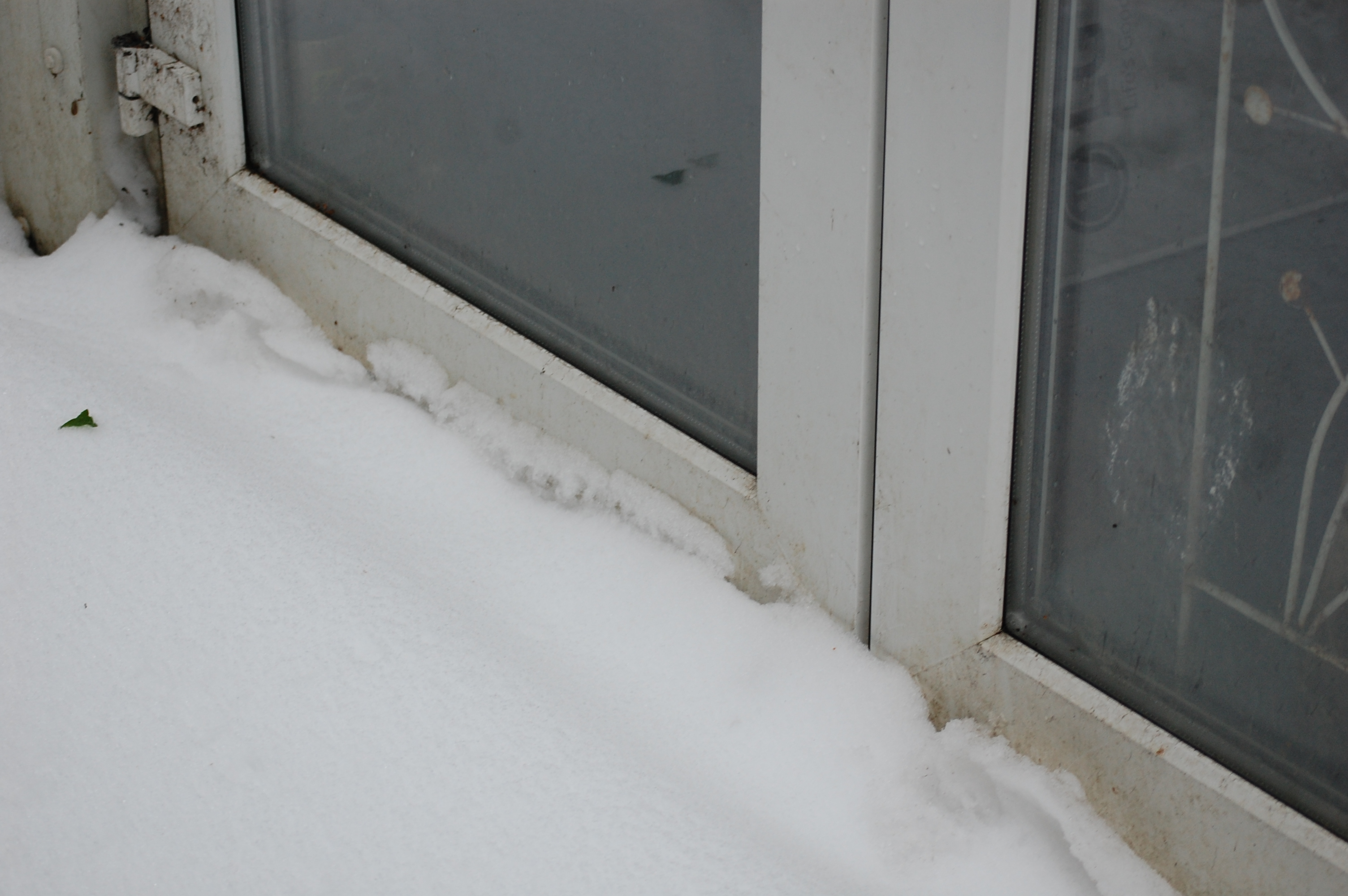 Doors can be jammed, and mechanisms can be damaged when opened or closed against the weight of snow and ice.