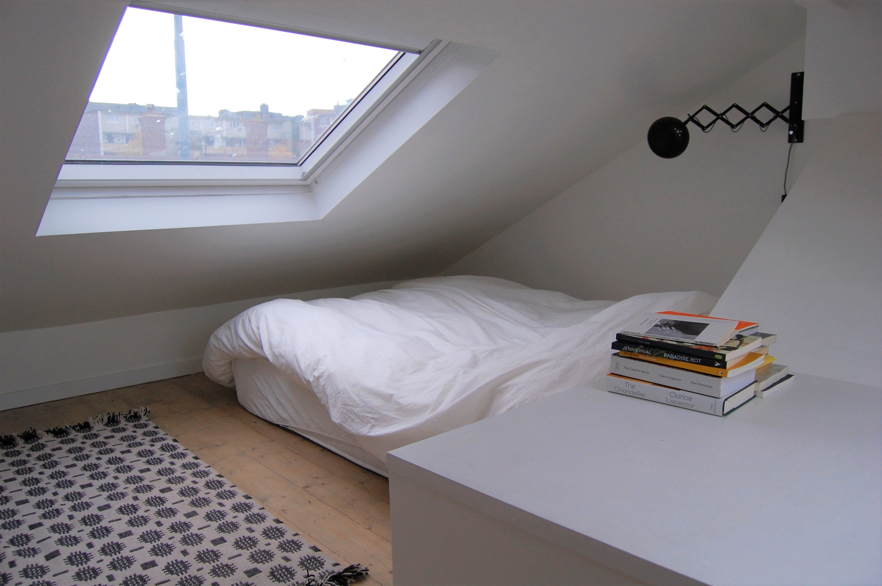 Mezzanine Used as Sleeping Area