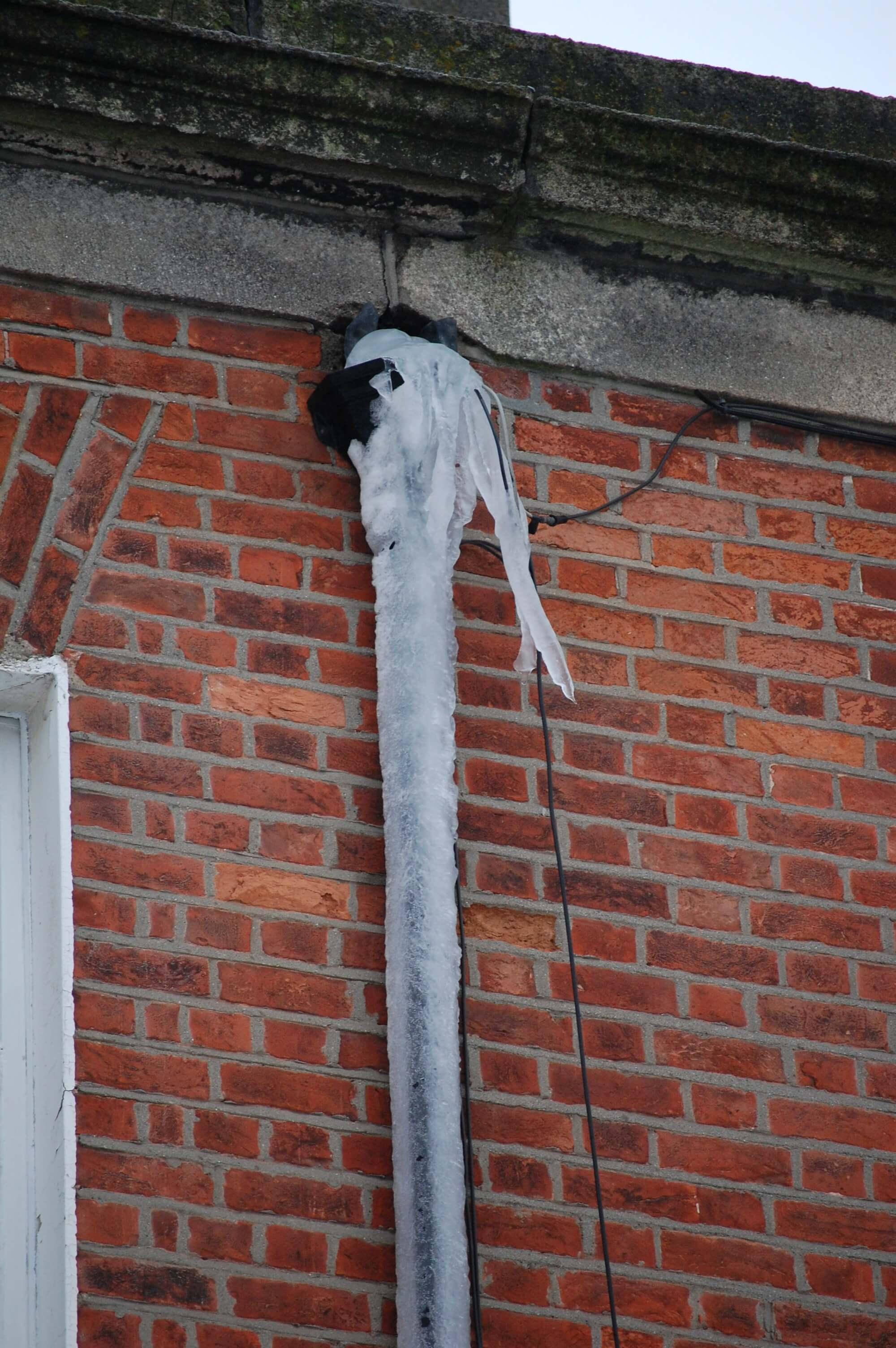 Frozen Rainwater Hopper