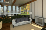 Test Render of Luxury Interior
