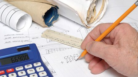 Quantity Surveyor Illustration