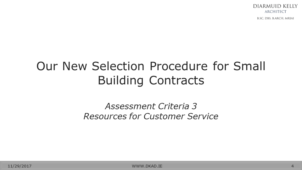 Choosing Your Builder 3 Resources For Customer Service Diarmuid