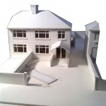 Architectural Design Model Showing Set- Down Area
