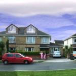Photomontage Showing Effect of Dormer Windows on Street